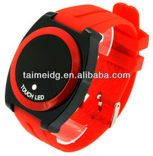 New popular products 2013 hot godier touch screen led watch