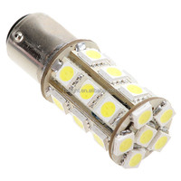 S25 5050 24 SMD 1157 LED YELLOW BRAKES SIGNAL TURNING PARKING TAIL LIGHT 12V