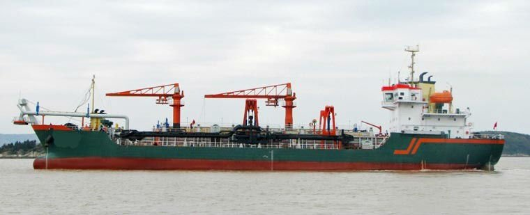 DG1107 - 7240 m3/h Trailing Suction Hopper Dredger