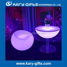 LED Illuminated Turnish Furniture Lower Coffee Table for Coffee Shop, Bar