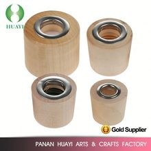 Customized high quality wooden handle end cap