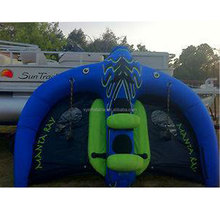 flying pvc inflatable water towable ski tubes