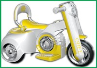 kids new tricycle , child mini motor with LED light, kids battery tricycle