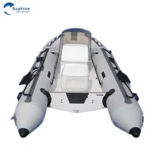 CE deep V shape hull 4.7m fiberglass rib inflatable boat for sale