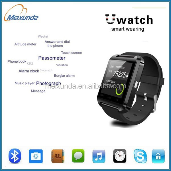 Bluetooth Smart Watch WristWatch U8 U Watch for Samsung S4/Note 2/Note 3 HTC LG Huawei Xiaomi Android Phone Smartphones