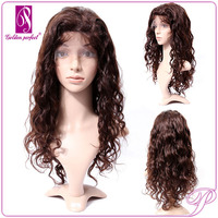 Chinese Vendor AAAAA Virgin Natural Girls Human Lace Front Wigs Hair