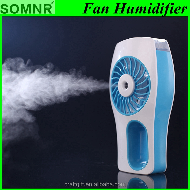 Water spray mist humidifier/electric humidifier fan/ultrasonic humidifier fan
