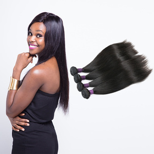 Free Sample cuticle aligned 8A 100 original brazilian human hair bundle,100 original brazilian human hair weave distributor