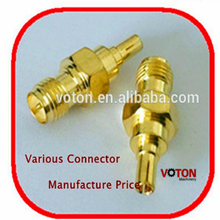 9000 certification male female wire connector male to SMA crc9 female pigtail connectors