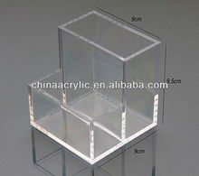 Multi-purpose Clear Acrylic Organizers/Hot Sale Acrylic Clear Cube Makeup Organizer