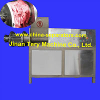 Meat bone separator for poultry, fish meat deboning for meat processing plant