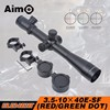 Aim-O 3.5-10X40 Mil-dot Red Green Reticle Sniper Items Riflescopes Hunting Optics scope for Airsoft AO 5305