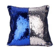 Custom Color Reversible Mermaid Sequin Pillow Designer Handmade Cushion Covers