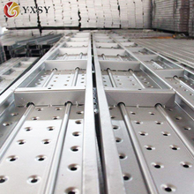 Galvanized scaffold metal catwalk board from China alibaba