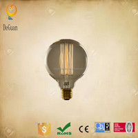 G125 light bulbs E27 230V 25W carbon filament antique vintage bulbs squirrel cage bulb