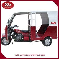 2016 Chinese KAVAKI brand popular 3 wheel taxi cheap for sale in guangzhou factory with good quality