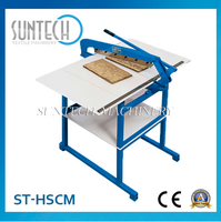 SUNTECH Hand Fabric Sample Straight Knife Pingking Machine Made In China
