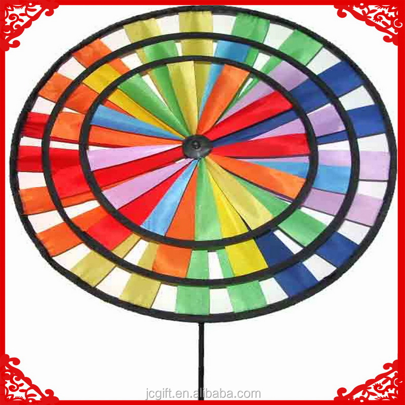 Super quality windmill lowes decorative plastic wind spinners solar toy windmill