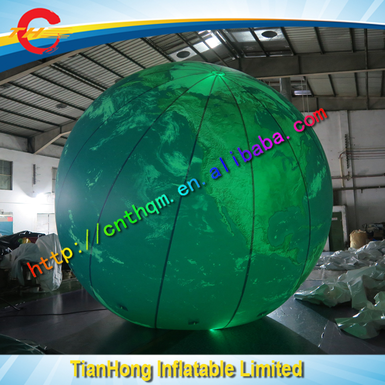 5m dia helium inflatable earth