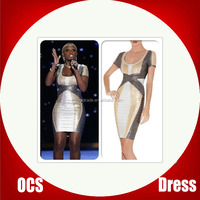 knee length bandage dress in rayon women dress up games for girls