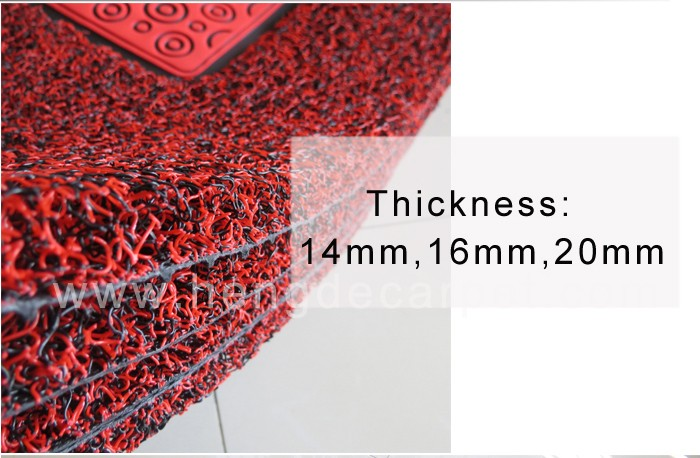 top quality colorful dustproof custom made car floor mat