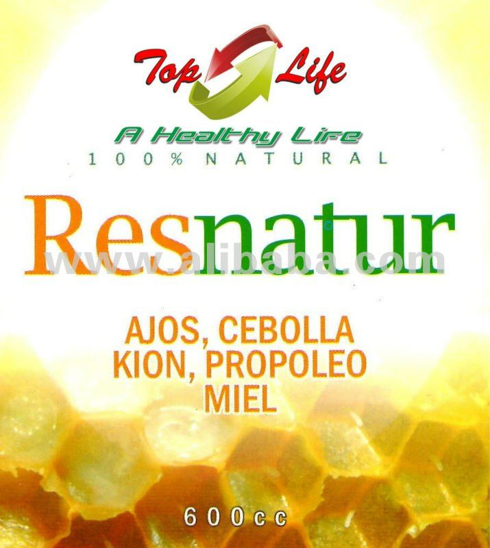 RESNATUR (Garlic, onion, ginger, honey and propolis) EXTRACT NATURAL PRODUCT PERU