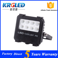 Outdoor exterior building projection waterproof led flood light 10w rechargeable led flood light