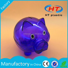 HTV001 Customized Logo Plastic Coin Box/Coin Bank/Money Box