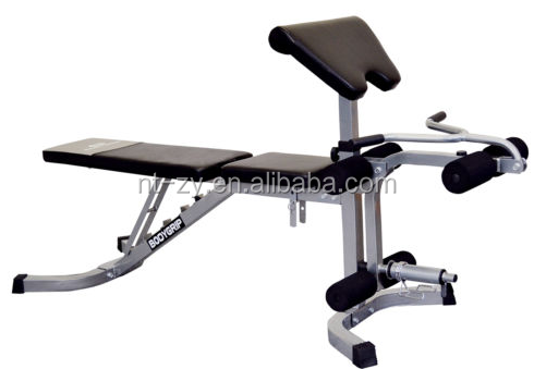 Heavy Duty Fid Utility Weight Bench With Preacher Pad Leg Attachment Buy Incline Bench
