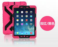 PEPKOO Waterproof Case for iPad 2/3/4 Shockproof Anti Dust Soft Cover Case with Stand MT-