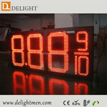 date and time led display/ gas station led price display/ outdoor digital billboard