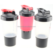 Protein shaker/BPA Free Shaker Bottle with Cup