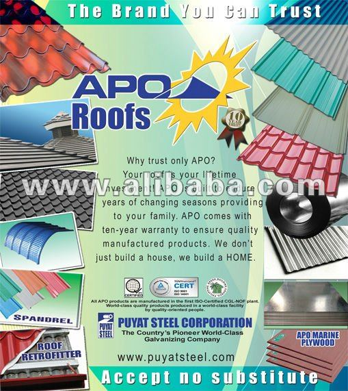 Apo, Excel Roof, DN Steel Roofing, Polycarbonate Sheets