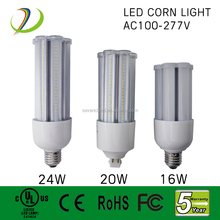 360 degree UL Listed led energy saving light bulb , led bulb lamp ,16W 20W 24W led corn light