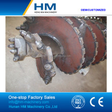 Fast Delivery Double Start Flight Tapered Rock Drilling Auger