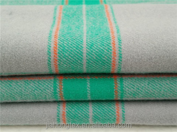 60 cotton 40 polyester yarn dyed flannel fabric for shirt for Cotton polyester flannel shirts
