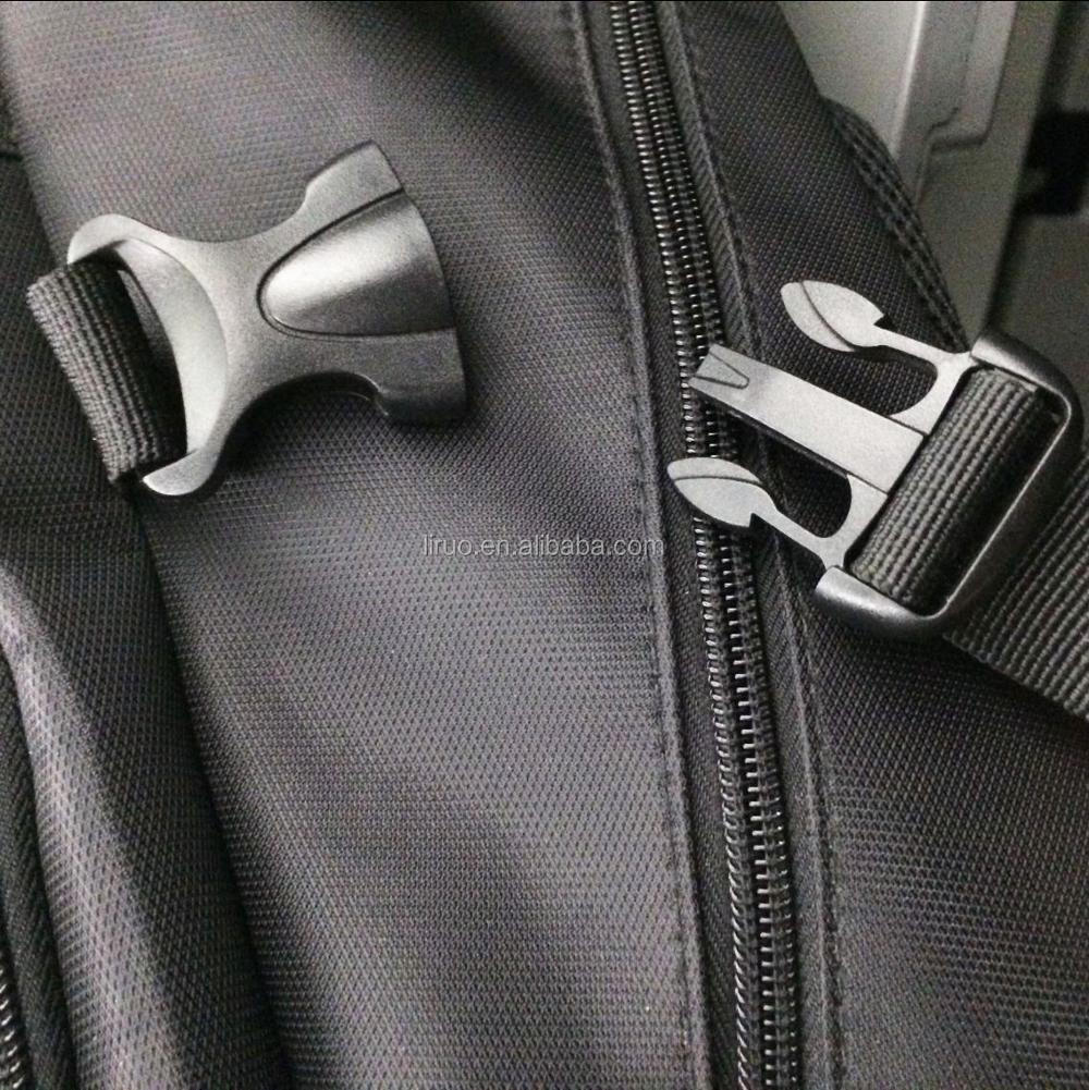 Double Adjusting Plastic Bag Buckles