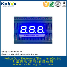 High brightness common anode seven segment display connection diagram
