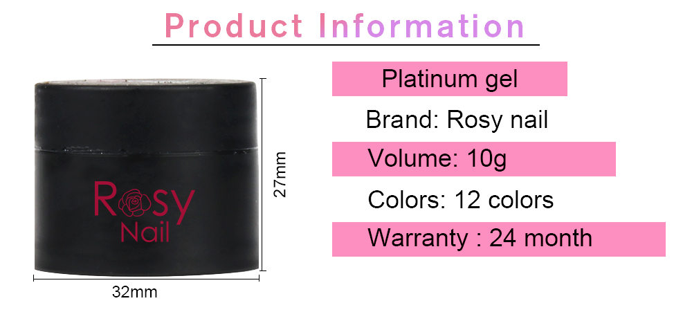 2019 new products oem customize your logo platinum gel nail polishes