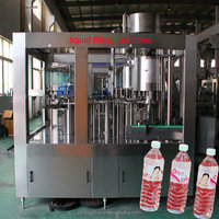 Full Automatic 3 in 1 pure water bottling machine
