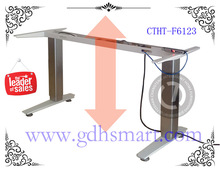 stainless steel folding table computer desk design adjustable standing desk movable computer desk