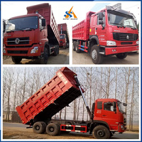 Chinese Left Hand Right Hand Drive HOWO8X4 Dump Truck