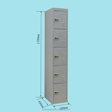 H185cm grey american locker/dressing room cabinet furniture/apothecary cabinet