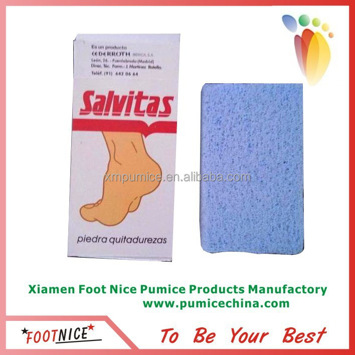 white glass pumice stone for hard skin remover
