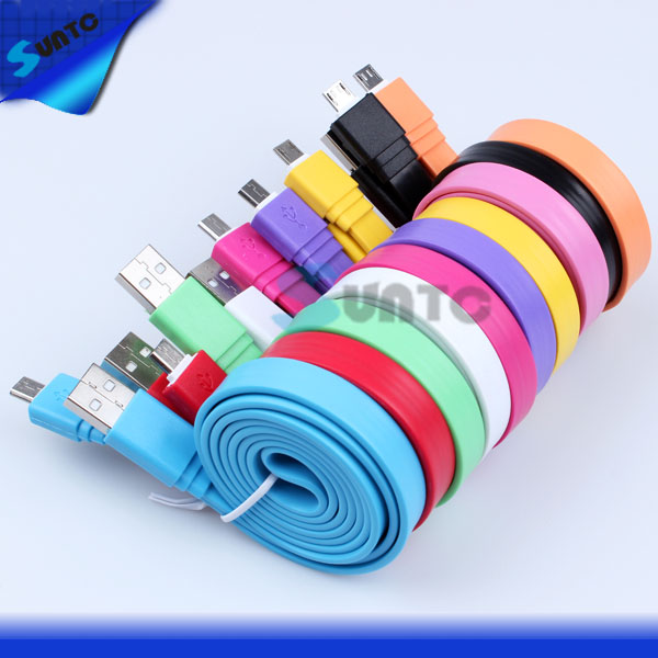 cable flat USB 2.0 for Samsung Galaxy i9300 i9500 S3 S4