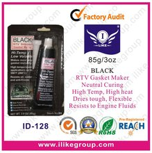 Black RTV Gasket Maker (sample is free,85g)