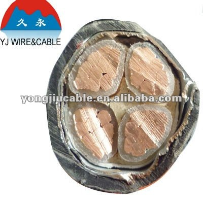 low voltage power cable 0.6/1kv copper/aluminum xlpe insulation pvc/rubber sheath armored cable shanghai zone