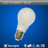 A60 Milk Glass filament LED bulb E27 B22