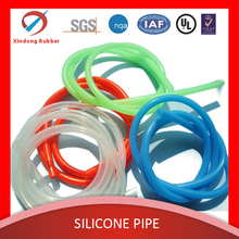 customized eco-friendly high temprature resistant medical silicone tubing