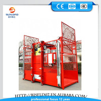 1-4t load weight construction lift/construction elevator